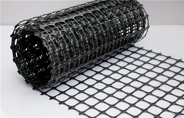 塑料双向土工格栅