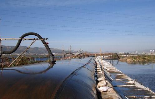 河道清淤充填管袋