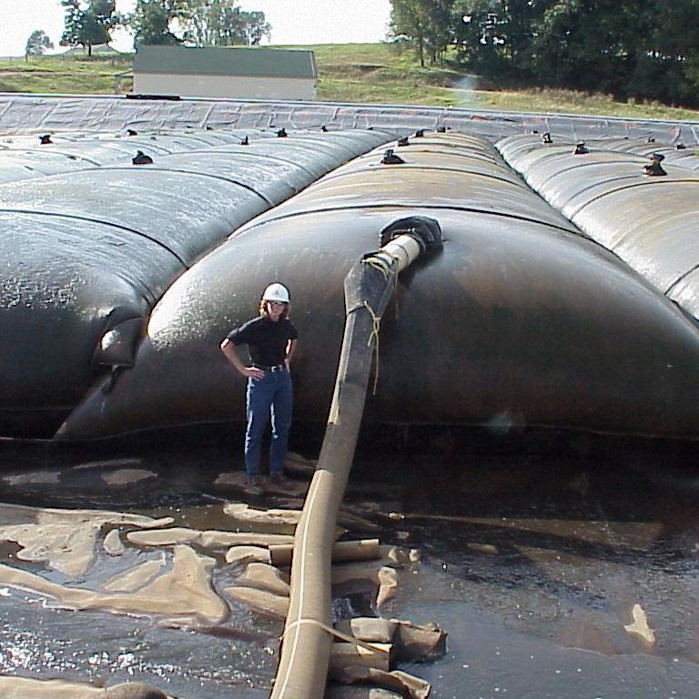 清淤固化围堰专用土工管袋