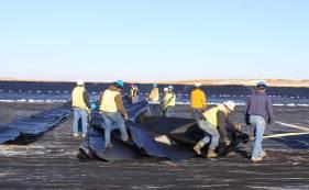 HDPE土工膜施工方案过程详细说明