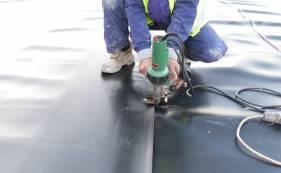 HDPE土工膜在渣场铺设的施工方案及协调措施